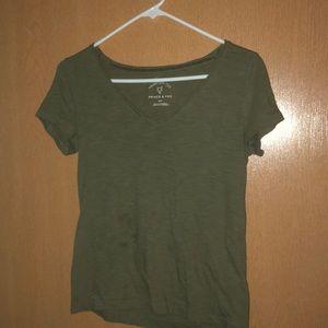 Green aero shirt